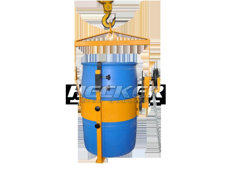 อุปกรณ์เสริมเครนยกถังน้ำมันหมุนเท Vertical drum lifter LG800A