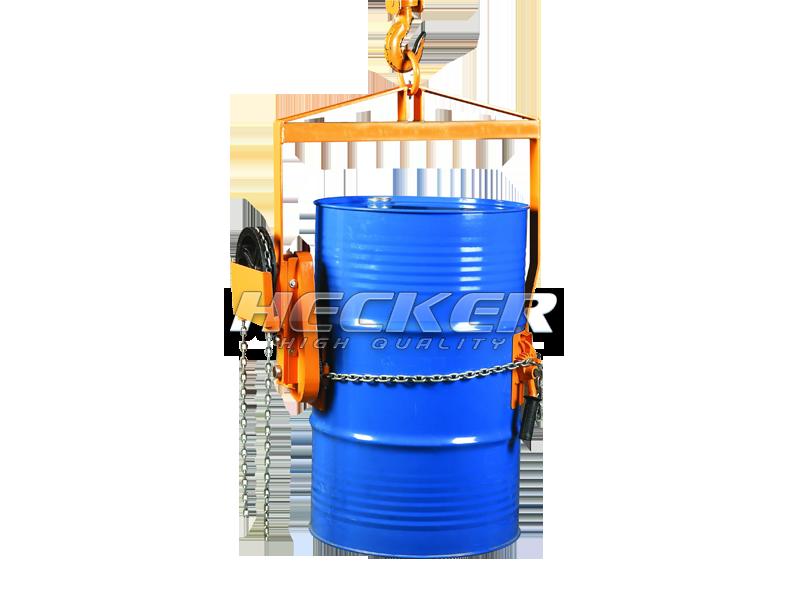 อุปกรณ์เสริมเครนยกถังน้ำมันหมุนเท Vertical drum lifter LG800
