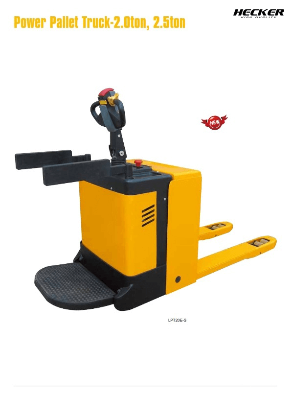 Catalog รถลากไฟฟ้า Power pallet truck LPTseries