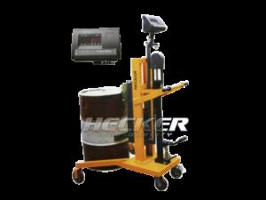 รถยกถังน้ำมันแบบมีตาชั่ง Hydraulic Drum Carrier DP450B-1