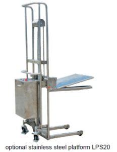 ถาดยกของ (LPS20) เป็นอุปกรณ์เสริม ของ Stainlees steel platform electric box SJ seires