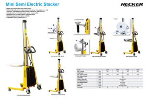 Catalog_Mini Semi-Electric Stacker E100