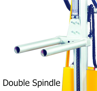 Option ของ Mini Semi-Electric Stacker แบบ Double spindle