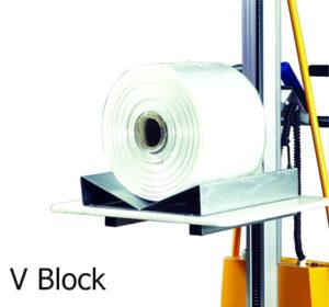 Option ของ Mini Semi-Electric Stacker แบบ V-block