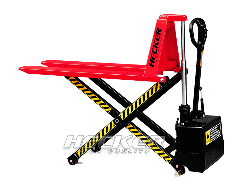 รถยกพาเลทยกสูงไฟฟ้าHigh lift scissor truck JE series