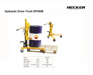 รถยกถังน้ำมัน Hydraulic Drum truck รุ่น DP350B